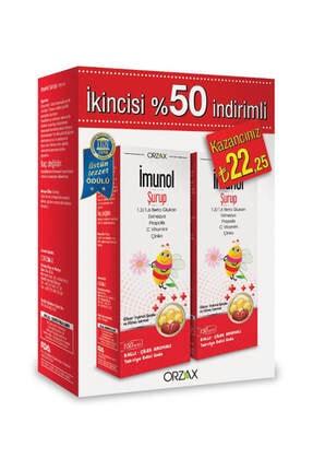 Orzax Imunol Şurup 2'li