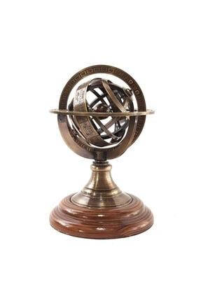 Hediye Sahibi Dekoratif Horoskop Pirinç Dünya Küre