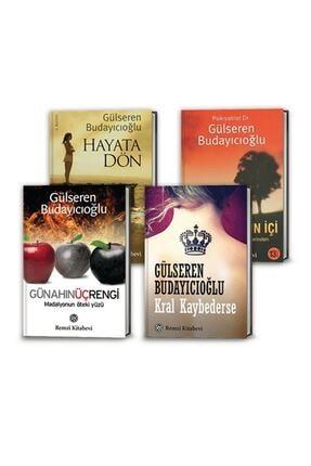 Kampanya Setleri Gülseren Budayıcıoğlu 4 Kitap Set (Kral Kaybederse, Hayata Dön, Madalyonun Içi, Günahın Üç Rengi)