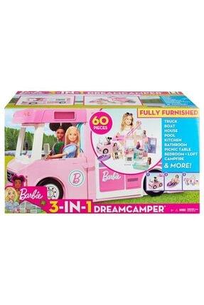 mattel Barbie Dream Camper 3 In 1 Muhteşem Karavan