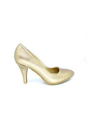 PUNTO -46200-1 Stletto Prada Topuklu Bayan Ayakkabı
