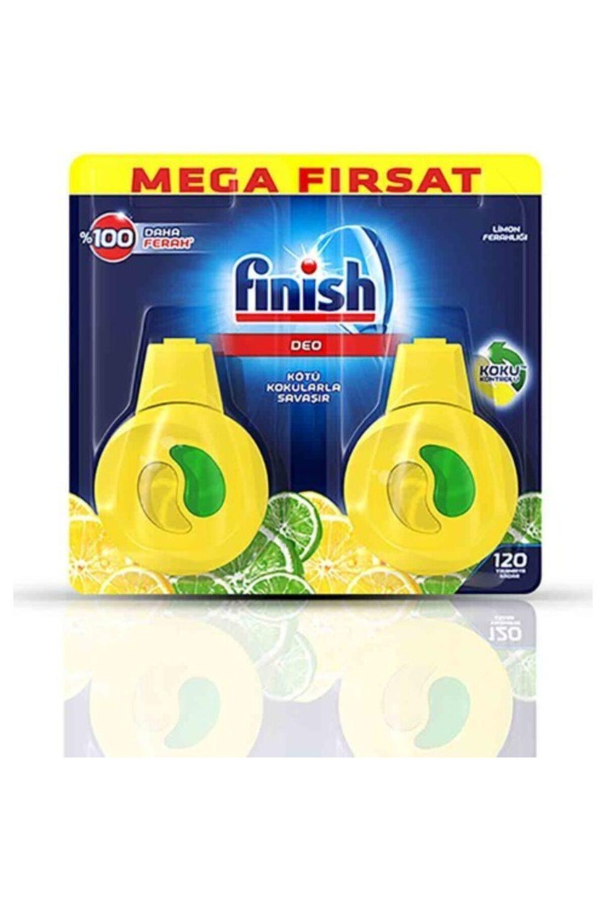Finish Bulaşık Makinesi Kokusu Limon 2'li Paket 2