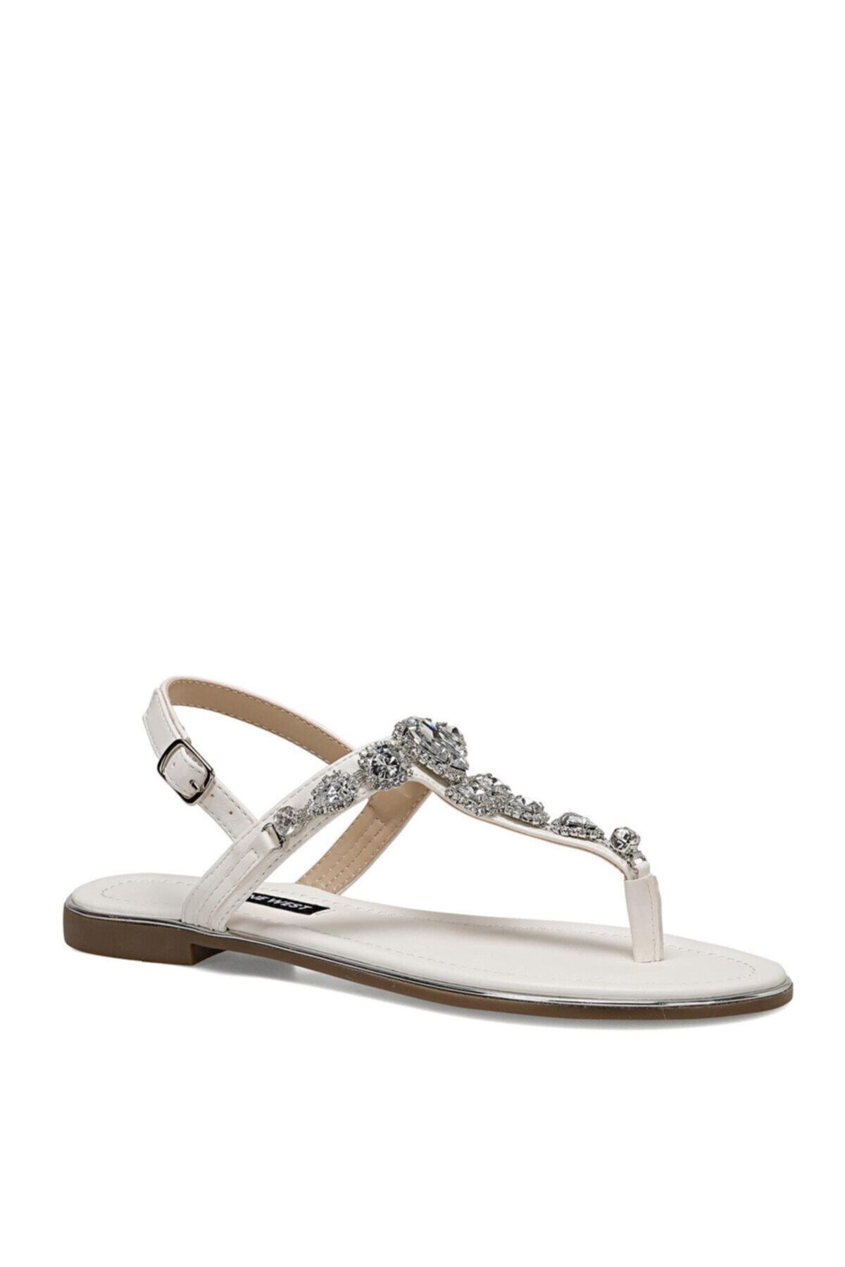 Nine West ZULI Beyaz Kadın Sandalet 100524863 2