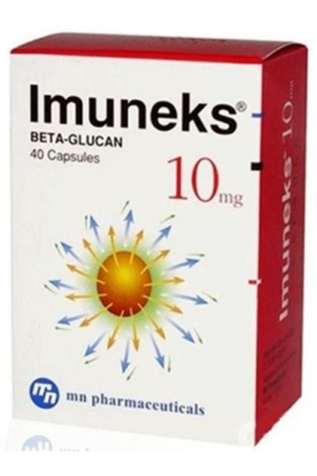 Imuneks Farma Imuneks Beta-glukan 10mg 40 Kapsül 1