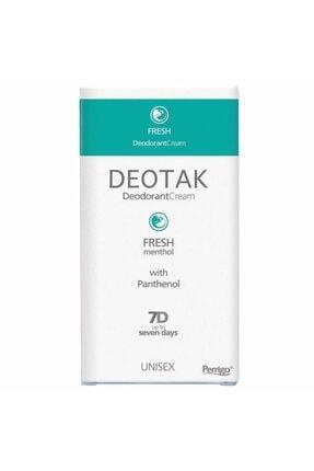 Deotak Fresh Menthol Krem Deodorant 35ml