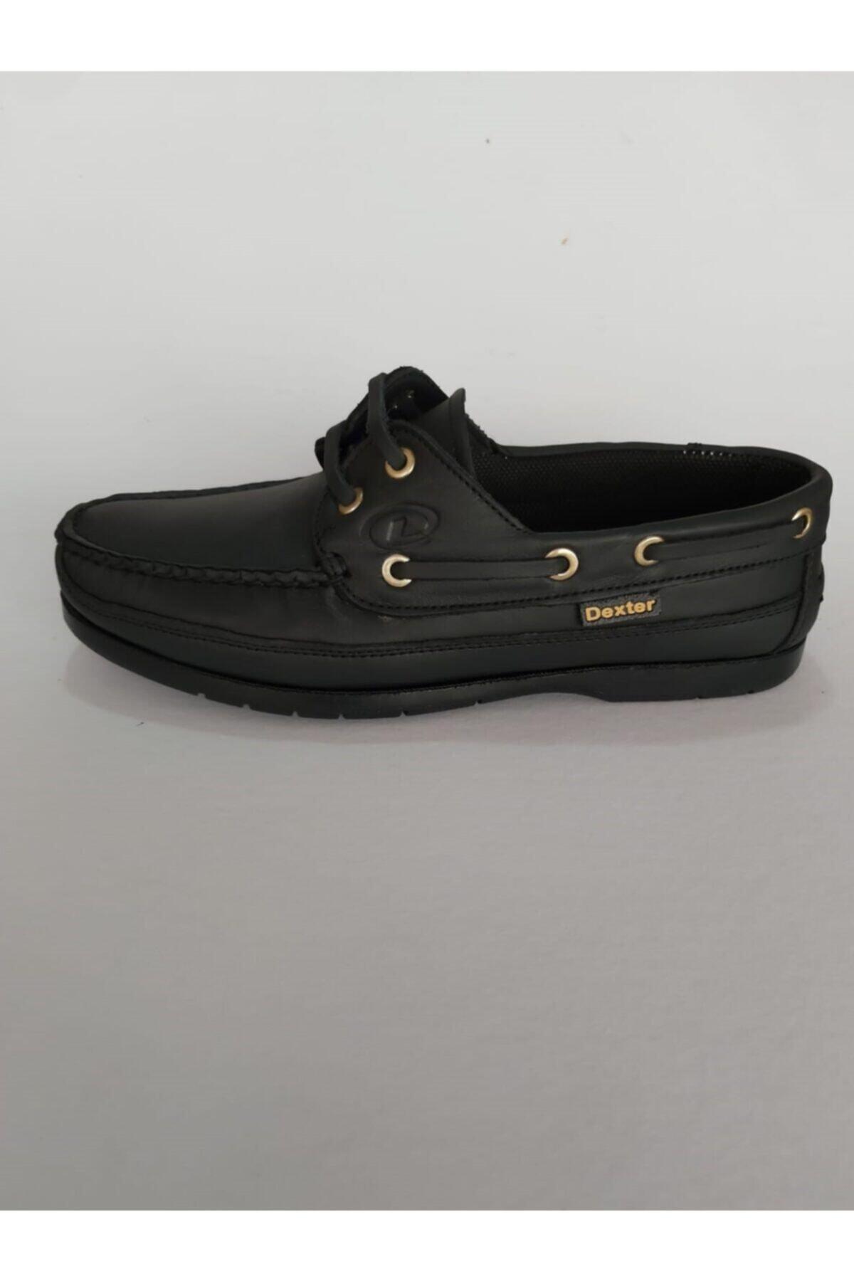 Dexter Tarzı Rahat , Siyah Bordo Klasik Ayakkabı 2