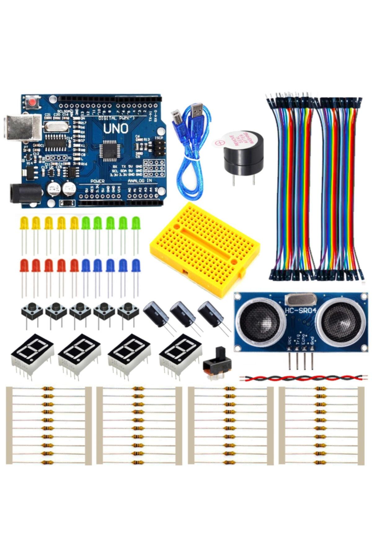 Arduino Uno Başlangıç Seti - 100 Parça 1