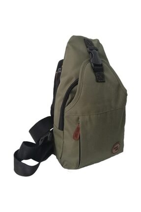 SEVENTEEN Haki Çapraz Askılı Göğüs Ve Sırt Çantası, Body Bag Çanta 2212