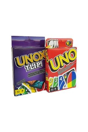 Mattel Games Uno Tlip Ve Uno Classic Ikisi Bir Arada