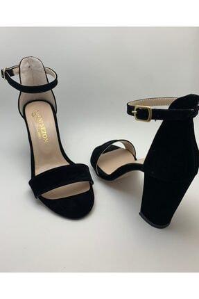 Stone Bayan Tekbank Topuklu Sandalet