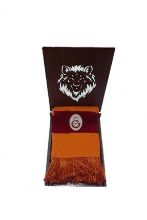 Galatasaray Galatasaray Forma Ahşap Hediye Kutulu Atkı-2