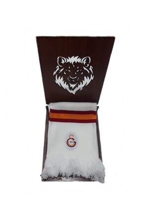 Galatasaray Galatasaray Forma Ahşap Hediye Kutulu Atkı-4