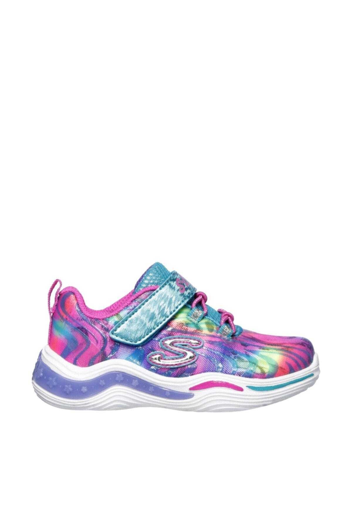 SKECHERS KIDS POWER PETALS-FLOWERSPARK Küçük Kız Çocuk Çok Renkli Spor Ayakkabı 1