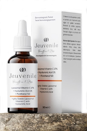 Jeuvenile Liposomal Vitamin C %17 + Hyaluronic Acid %1 + Panthenol %3 C Vitamini Serumu 30 ml