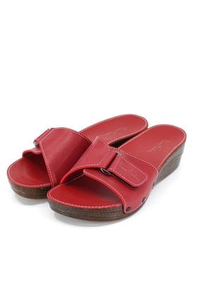 Pierre Cardin Kadın Kırmızı Terlik Pc-6780  21s28006780