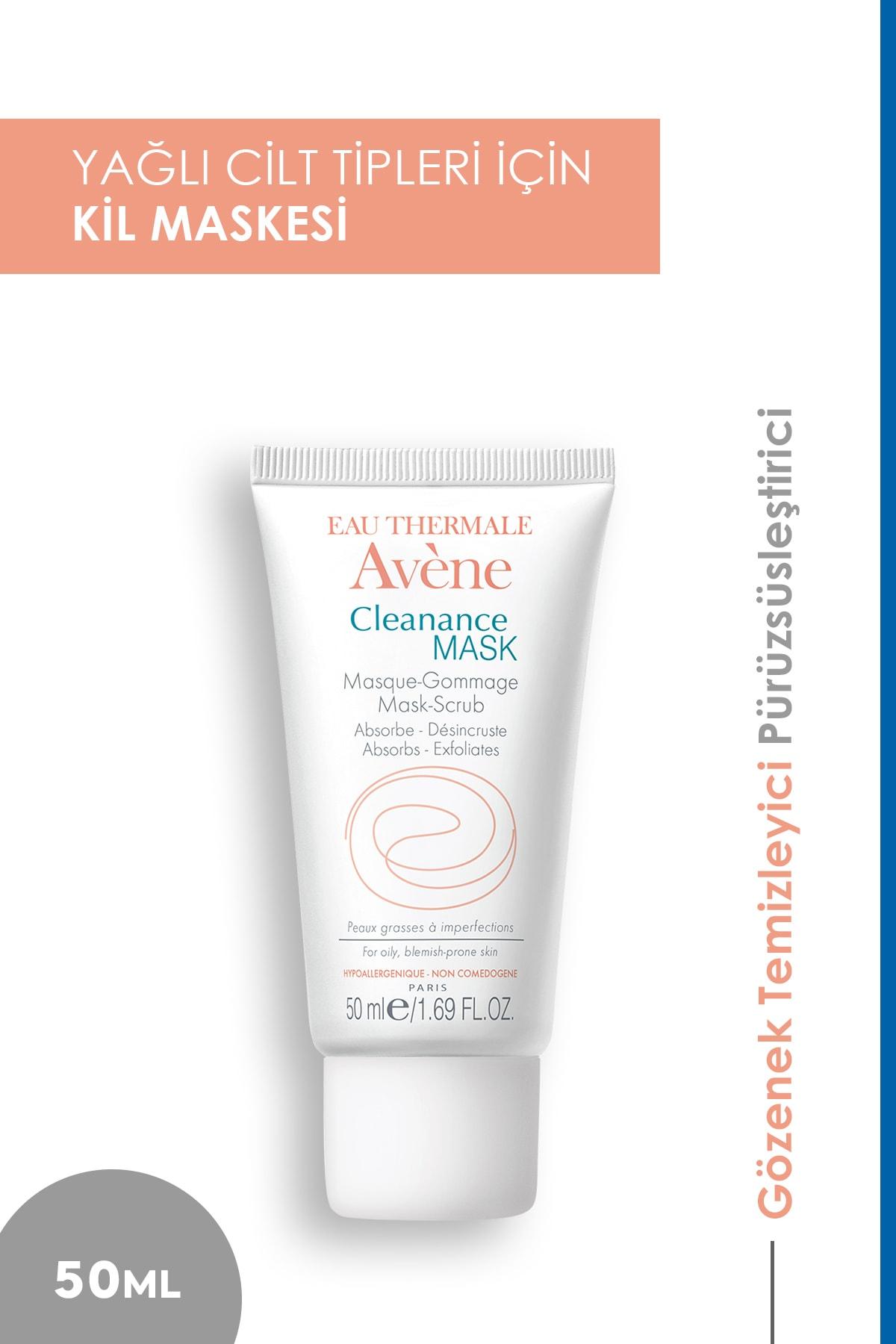 Avene Cleanance Mask 50 ml - Yağlı Ciltler İçin Maske 1
