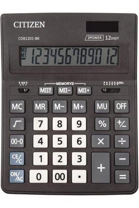 Citizen Hesap Makinası Masa Tipi Cdb-1201bk[4007120100]