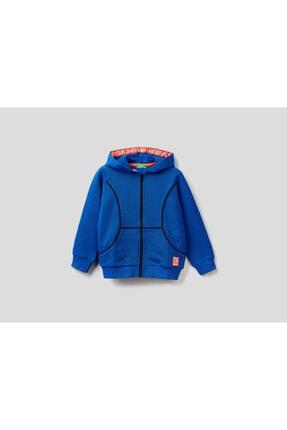 United Colors of Benetton Erkek Çocuk Maci Biye Detaylı Sweatshirt