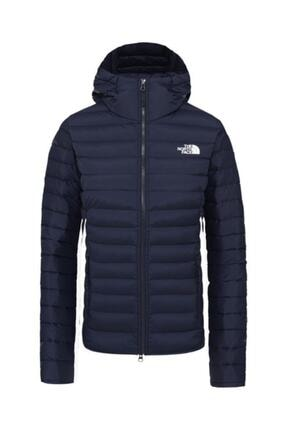THE NORTH FACE Stretch Down Hoodie Kapüşonlu Kadın Mont Lacivert
