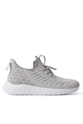 Slazenger Adventure Sneaker Erkek Ayakkabı Gri / Beyaz Sa10re255
