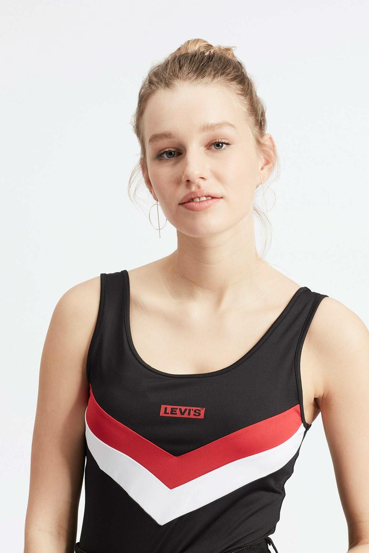 Levi's Kadın Florence Bodysuit T-shirt Zıbın 80812-0000 2