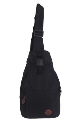 SEVENTEEN Seven Teen Bodybag Erkek Çantası Siyah 2212