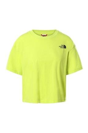 THE NORTH FACE Kadın Yeşil  Spor T-Shirt
