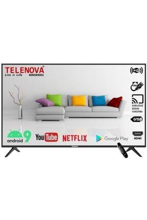 """TELENOVA 40NSK9001 40"""" 101 Ekran Uydu Alıcılı Full HD Smart LED TV"""