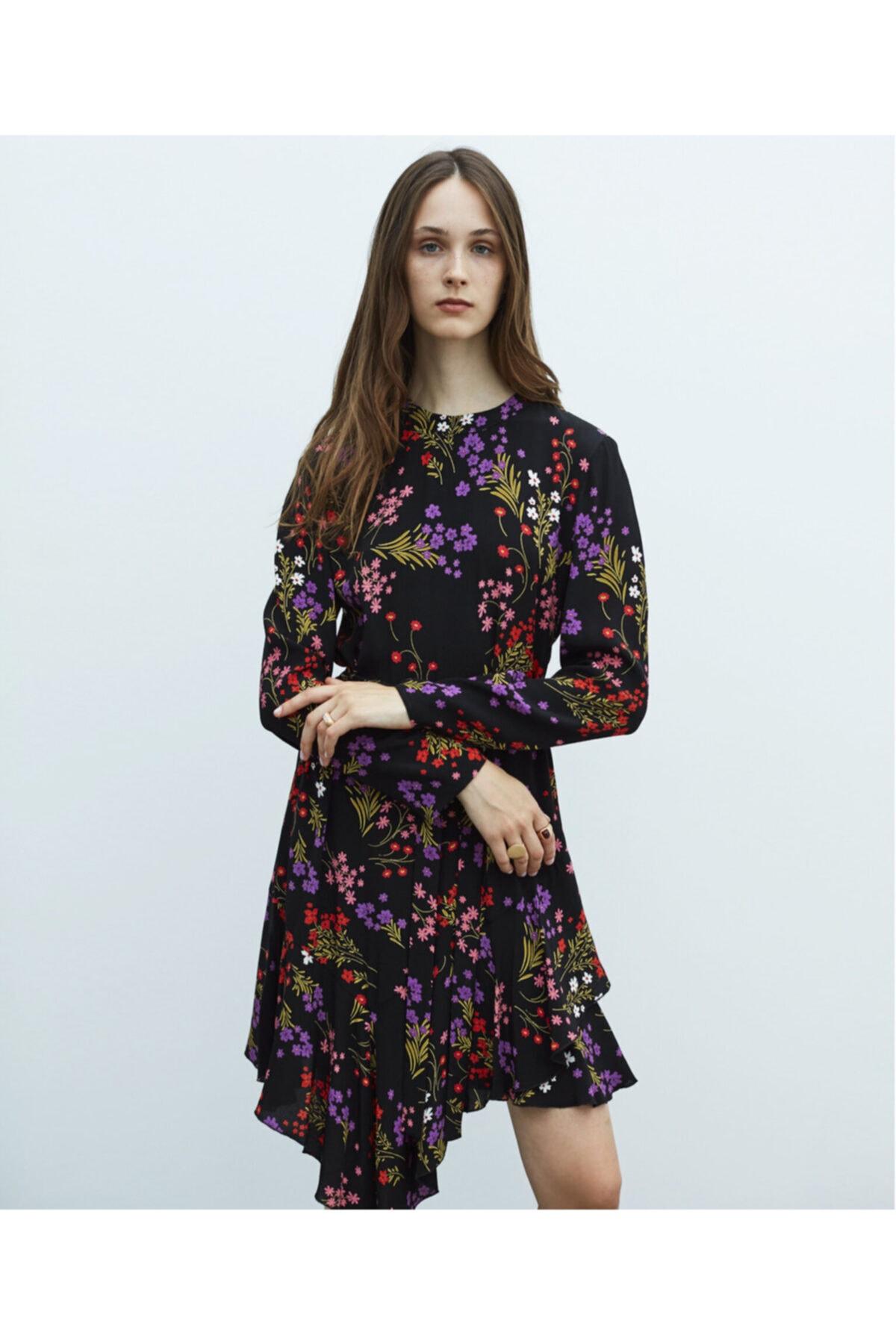 MISS IPEKYOL Çiçek Desen Elbise 2
