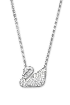 Swarovski Kolye Swan:necklace Cry/rhs 5007735