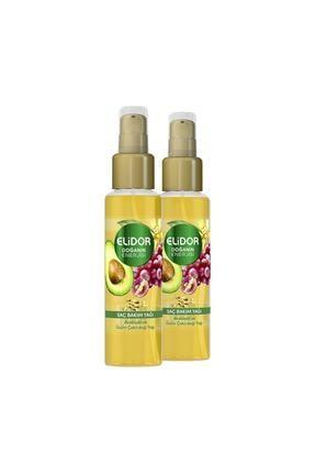 Elidor Doğanın Enerjisi Kalın Ve Gür Saçlar Avokado, Üzüm Çekirdeği Özlü Saç Bakım Yağı 80 ml X 2