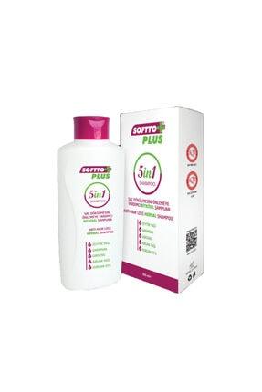 Softo Plus Saç Dökülmesini Önlemeye Yardımcı Bitkisel Şampuan 5 in 1