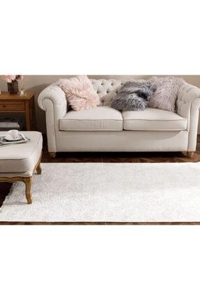 English Home Şal Desen Polyester Halı 80x300 Cm Ekru
