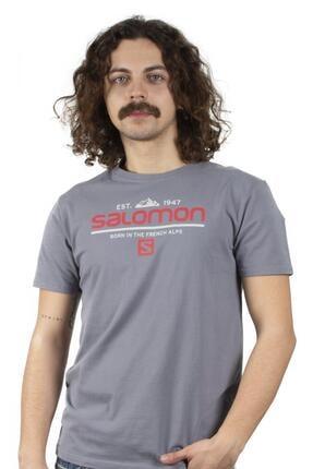 Salomon Erkek Gri S20mwraıth Wraith Ss Tee  Tshirt