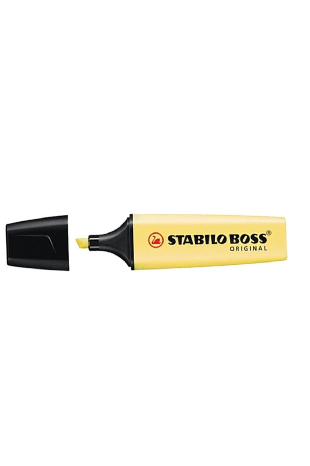 Stabilo Sarı Boss Original Fosforlu Kalem Pastel 70-144 1