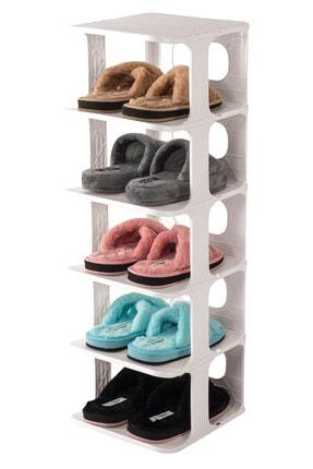 Pazarika Indiana Plastik Çok Katmanlı Ayakkabı Rafı, Düzenleyici, Organizeri