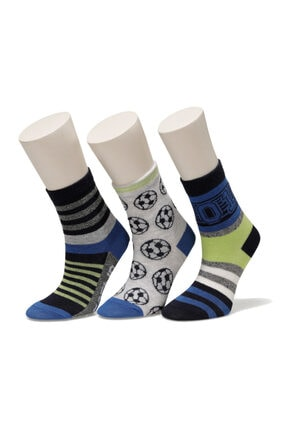 I COOL Erkek Çocuk 3'lü Çorap