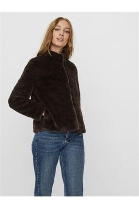 Vero Moda Kadın Short Faux Fur Jacket Col