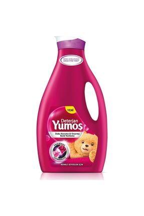 Yumoş Renkliler Bakım Sıvı Deterjan 2520 ml