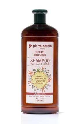 Pierre Cardin Herbal Onarıcı Ve Canlandırıcı Etkili Bitkisel Şampuan 750 ml
