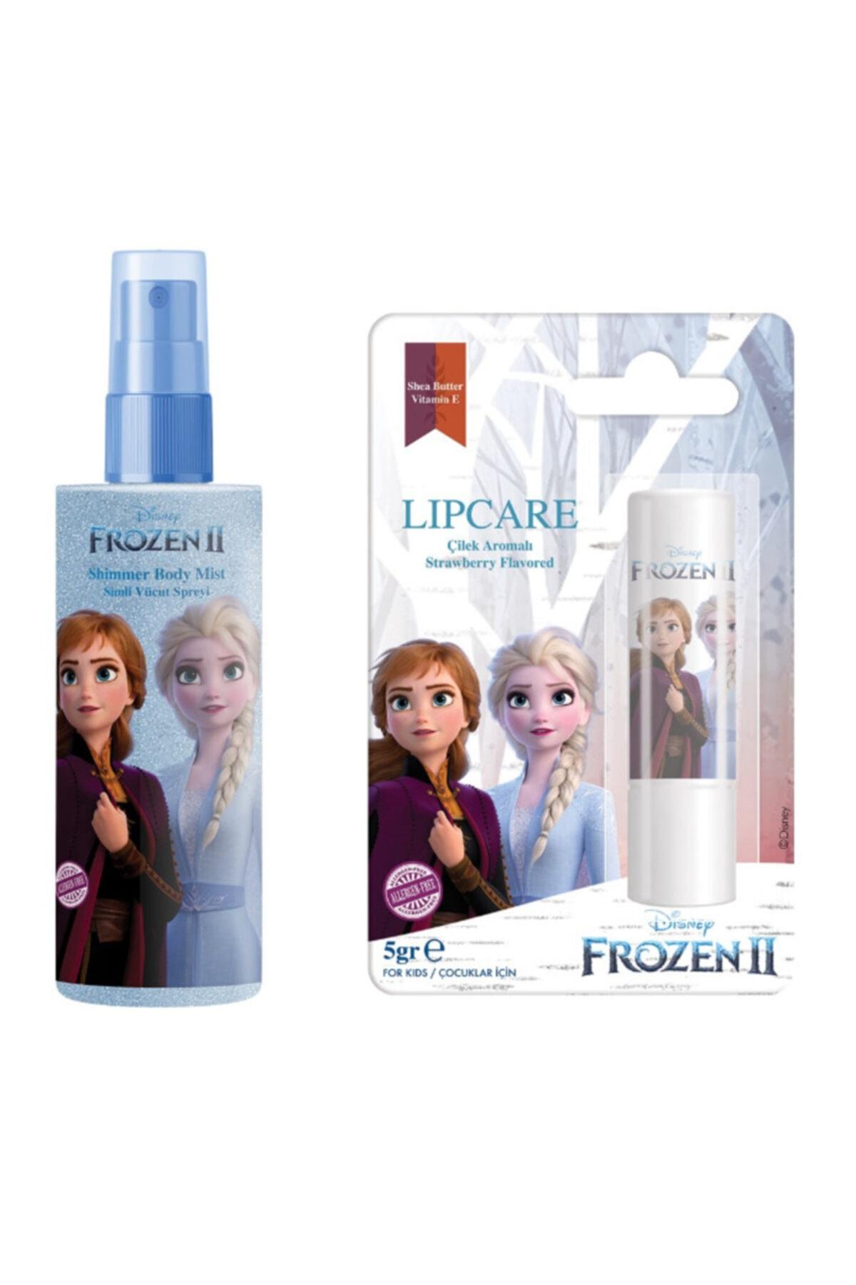 DISNEY Kız Çocuk Frozen Elsa Body Mist + Elsa Lip Stick 1
