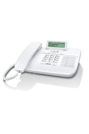 GIGASET Da710 Beyaz Ekranlı Masaüstü Telefon Handsfree 100 Rehber