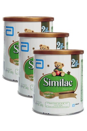 Similac Devam Sütü 2 Numara 360 gr x3 Adet