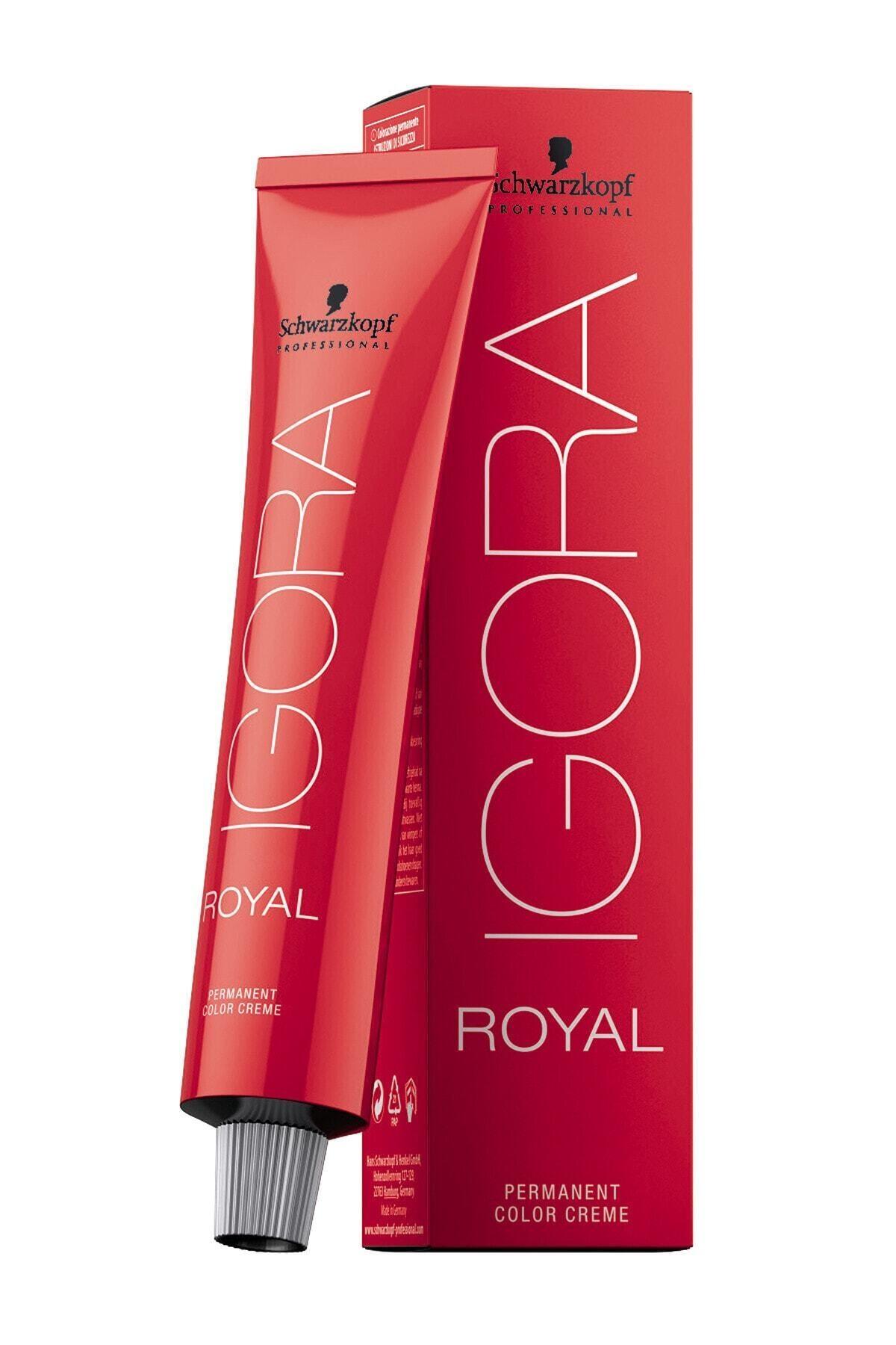 Igora Royal 6-77 Yoğun Bakır Koyu Kumral 60 ml 1