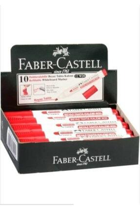 Faber Castell Tahta Kalemı Kırmızı 10 Adet  003445