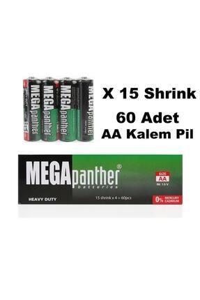 Panther Mega R6 1.5v Aa Kalem Pil 60lı Kutu