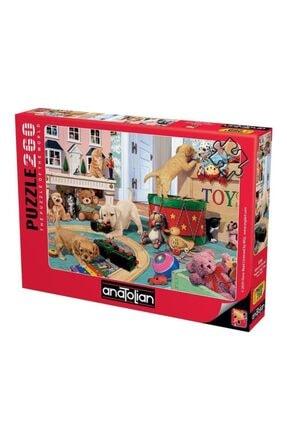 Anatolian Puzzle Yavru Köpeklerin Oyun Zamanı Puzzle Yapboz 260 Parça