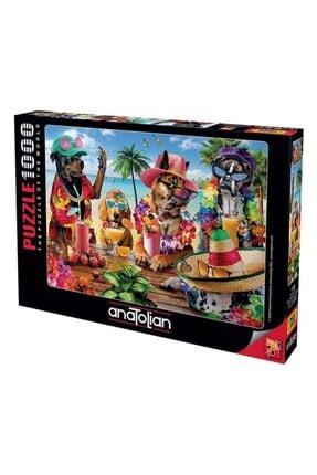 Anatolian Puzzle Tropikal Parti Puzzle Yapboz 1000 Parça