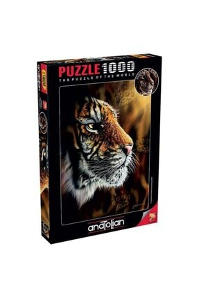 Anatolian Puzzle Vahşi Kaplan Puzzle Yapboz 1000 Parça