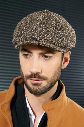 Sateen Men Erkek Kahve D. Bechkam Kırçıllı Şapka